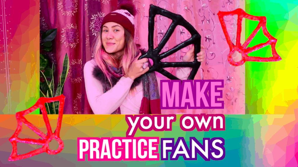 Make your own practice fans